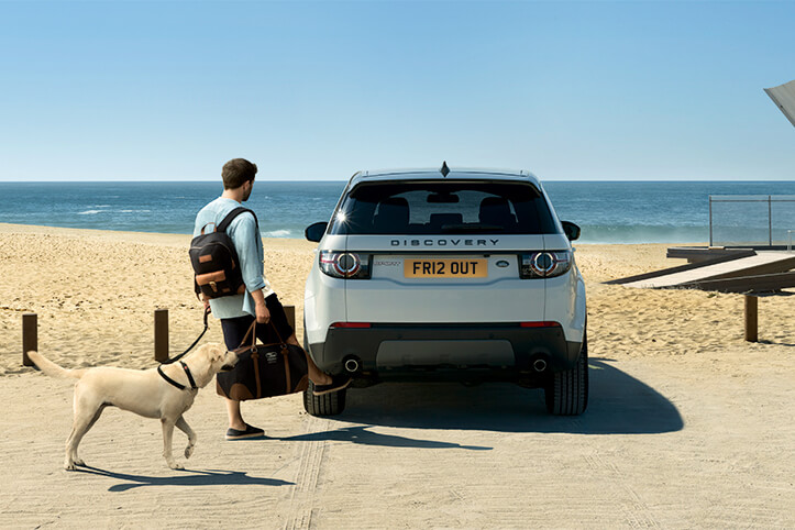 Land Rover Discovery Sport HSE on weekend trip