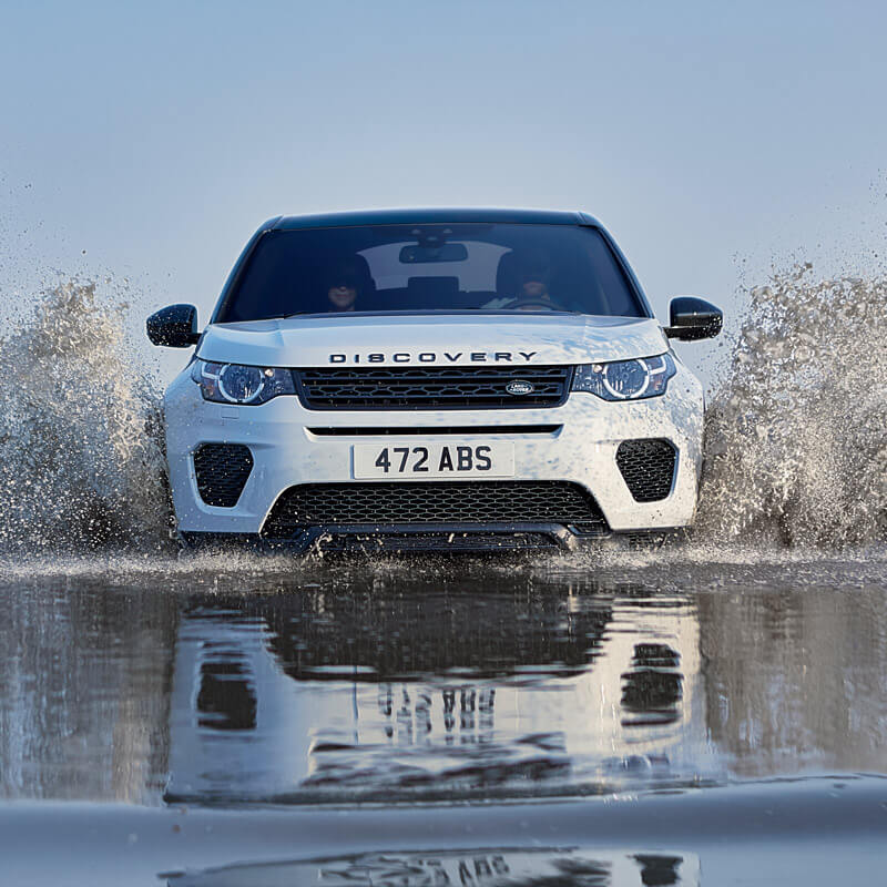 Land Rover Discovery Sport going on an adventure